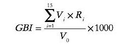GBI指数算法