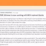 压缩率达99.54%,Xthinner已应用于BCH主网